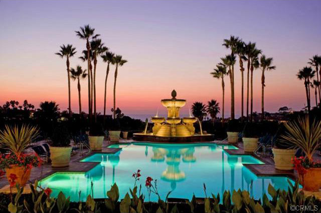 Sunset Views at the St. Regis Hotel in Dana Point, California