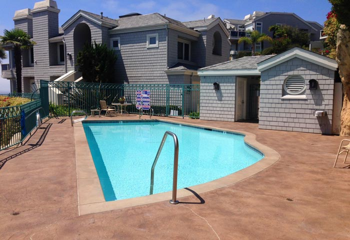 Admiralty Community Pool in Dana Point, California