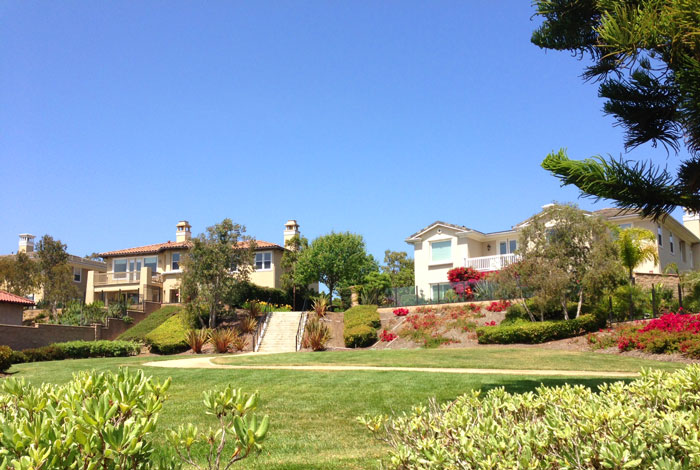 Bal Harbour Community Walking Trails in Dana Point, California