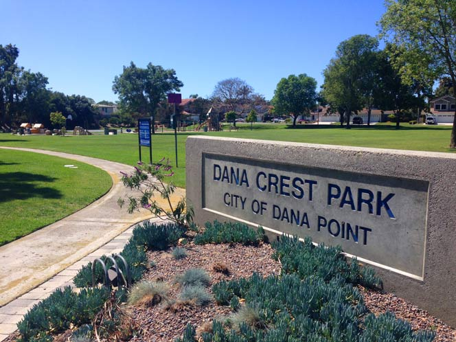 Dana Crest Park Area in Dana Point, California