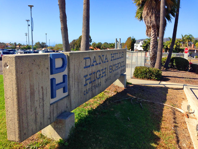 Dana Hills High School in Dana Point, California
