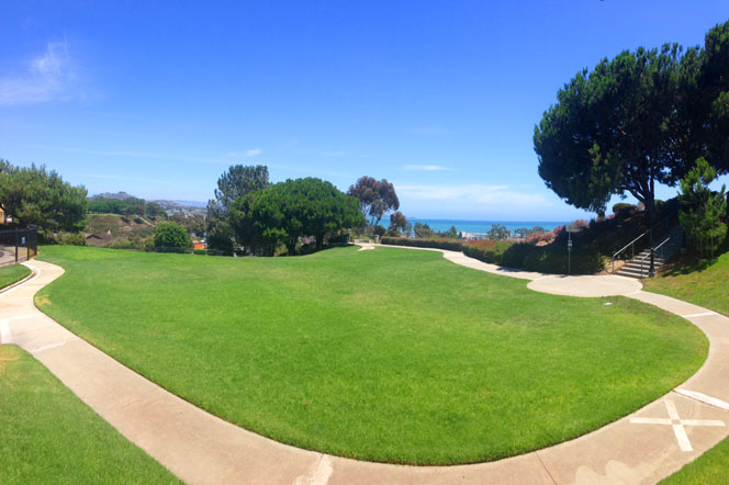 Lantern Bay Estates Heritage Park Area in Dana Point, California