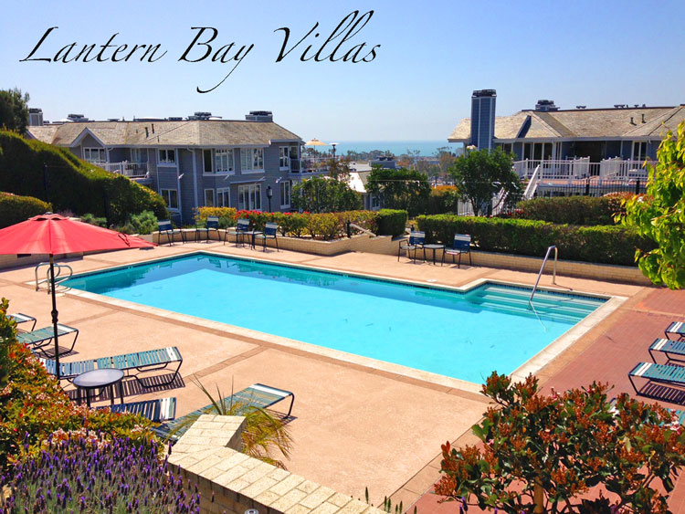 Lantern Bay Villas Community Pool In Dana Point, California