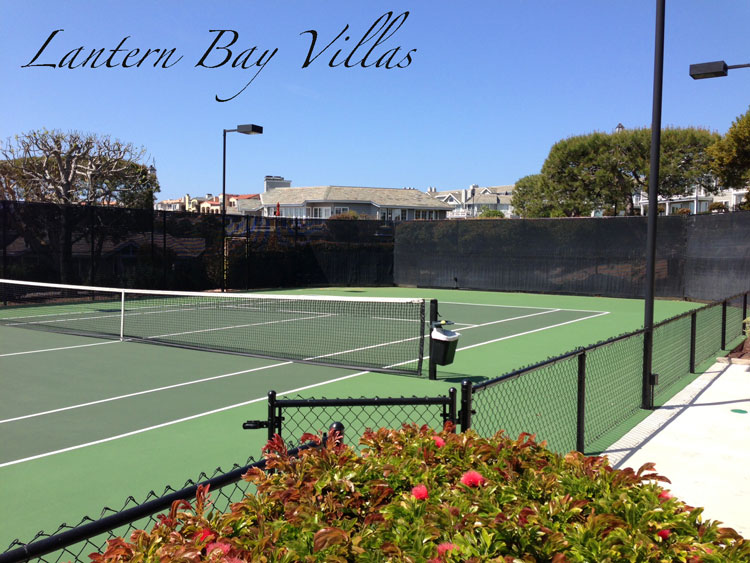 Lantern Bay Villas Community Tennis in Dana Point, California