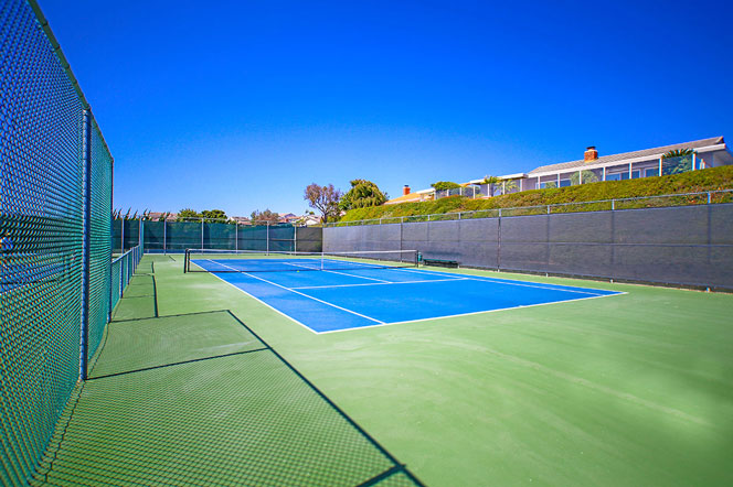 Niguel Shores Community Tennis in Dana Point, California