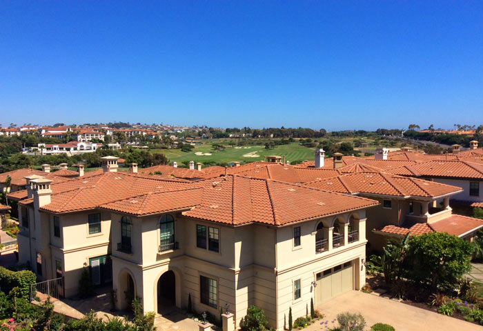 Pointe Monarch Golf Course View Homes in Dana Point, California