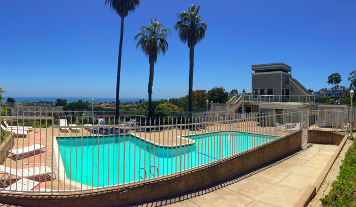 Sea Ridge Community Pool in Dana Point, California