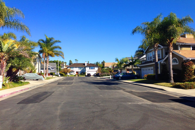 Seascape Circle Community Homes in Dana Point, California