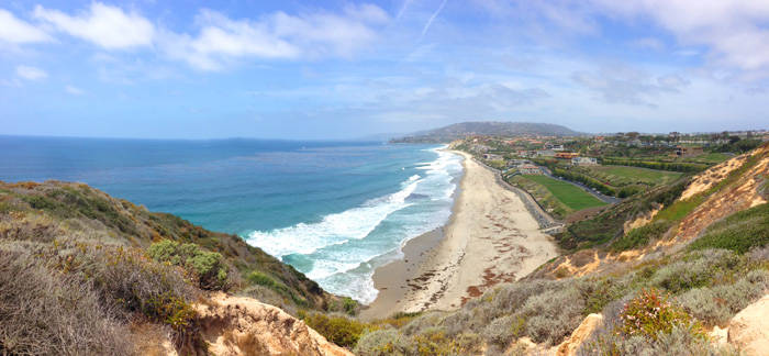 The Strand At Headlands Beach in Dana Point, California