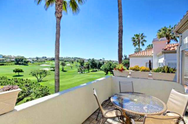 Tennis Villas Golf Course Views in Dana Point, California