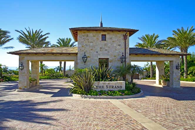 The Strand At Headlands community in Dana Point, California