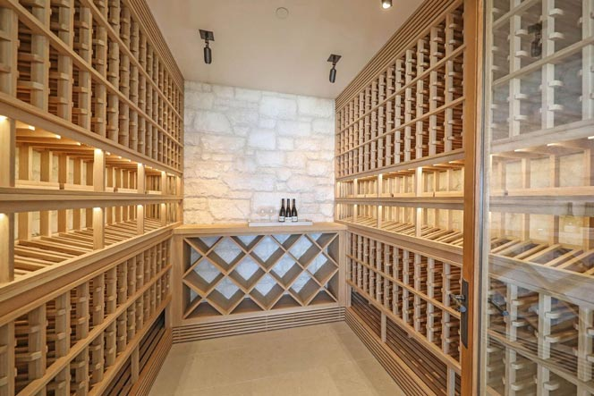 Wine Cellar from a Dana Point Home