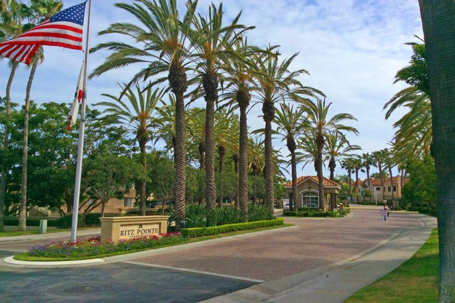 Ritz Pointe Gated Community in Dana Point, CA