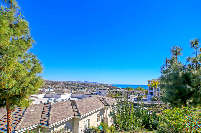 Sea Bluffs condos ocean views in Dana Point, California